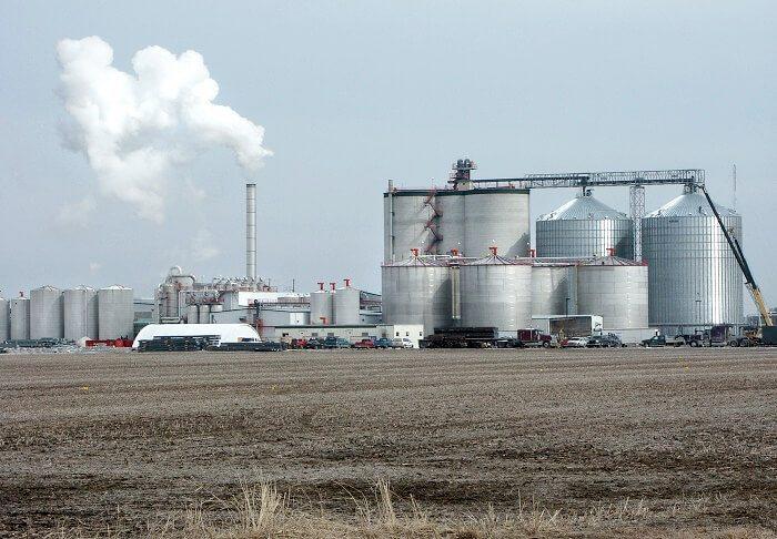 ethanol gas plant
