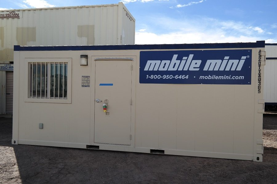 Mobile Mini, high-security office storage combo unit