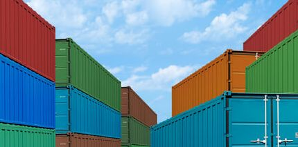 different sizes of storage containers