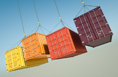 Multiple storage containers of different sizes