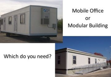 mobile vs modular
