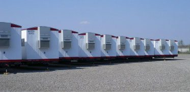 Multiple mobile offices with A/C, Satellite Shelters