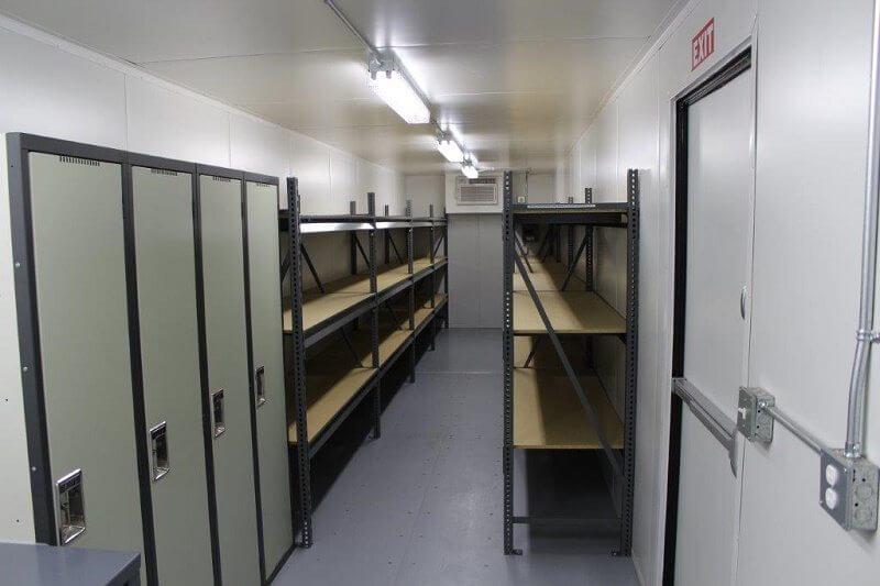 storage container shelving option