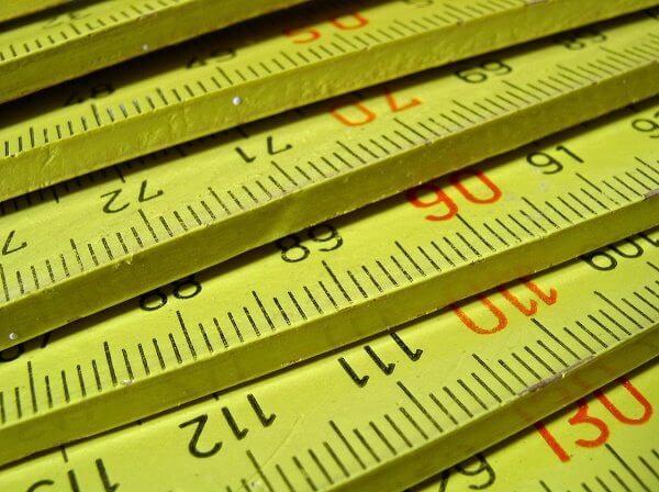 multiple tape measures